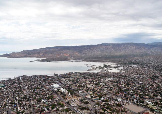 Gonaïves, departamento de Artibonite, no centro do Haiti (arquivo)
