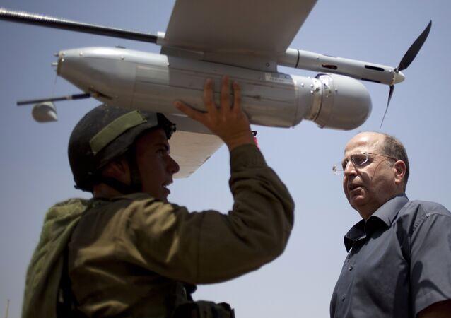 Drone israelense Skylark I (foto de arquivo)