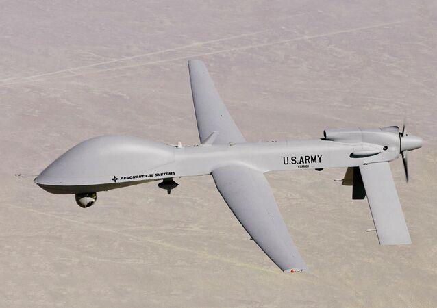 Drone MQ-1C Warrior UAV das Forças Aéreas dos EUA (imagem referencial)