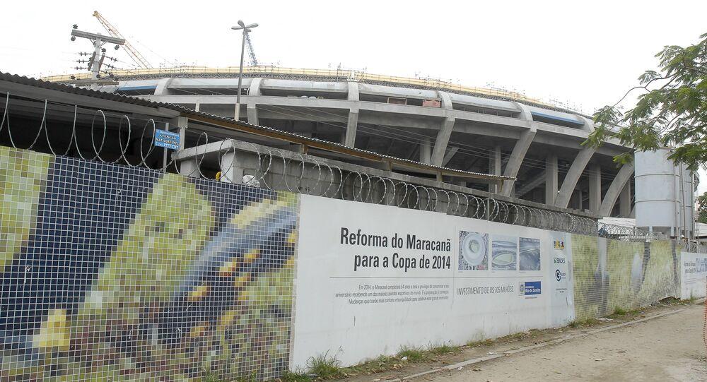MP pede devolução de superfaturamento no Maracanã
