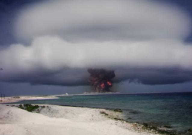 Processo de testes nucleares nos EUA