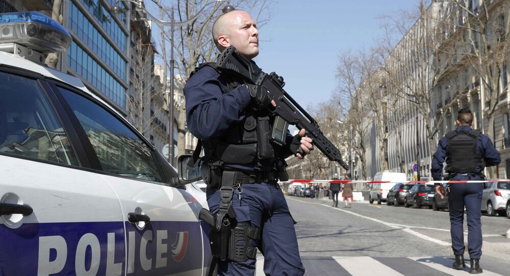A polícia francesa (foto de arquivo)