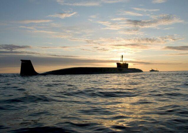 Submarino estratégico da classe Borei, Yuri Dolgoruky (foto de arquivo)