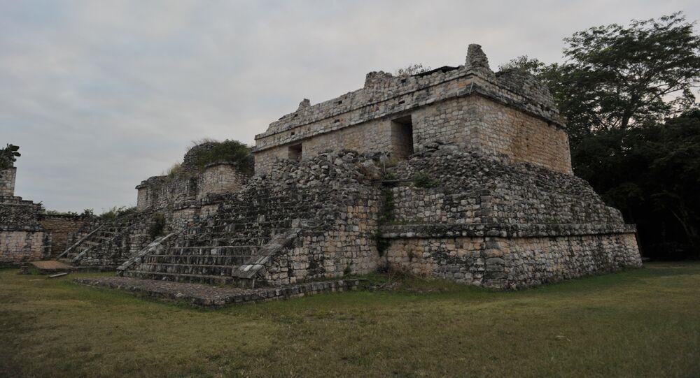 Pirâmides Maias Mexicanas