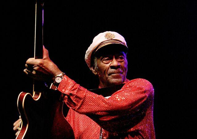 Chuck Berry, em março de 2008