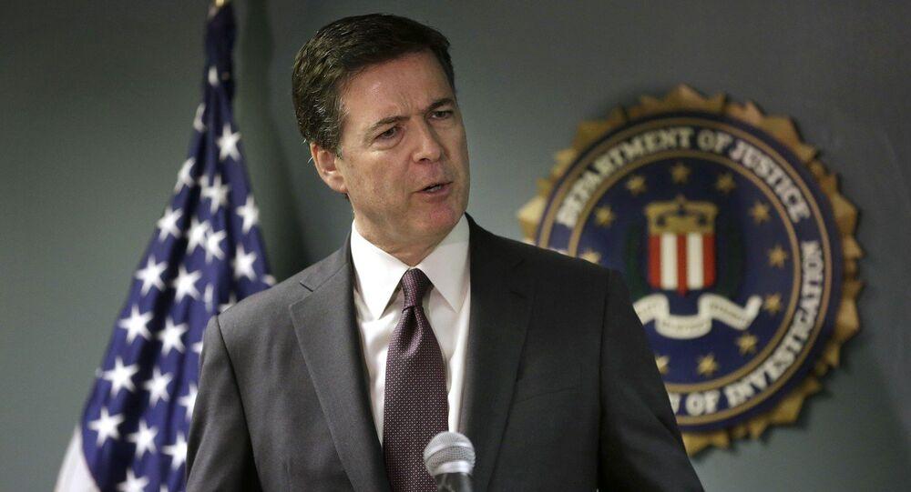 James Comey, diretor do FBI