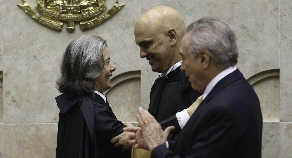 Posse de Alexandre de Moraes no Supremo Tribunal Federal