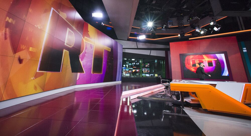 Canal de televisão russo RT