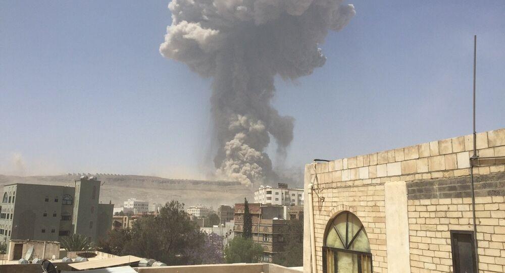 Bombardeios da coalizão liderada pela Arábia Saudita no Iêmen