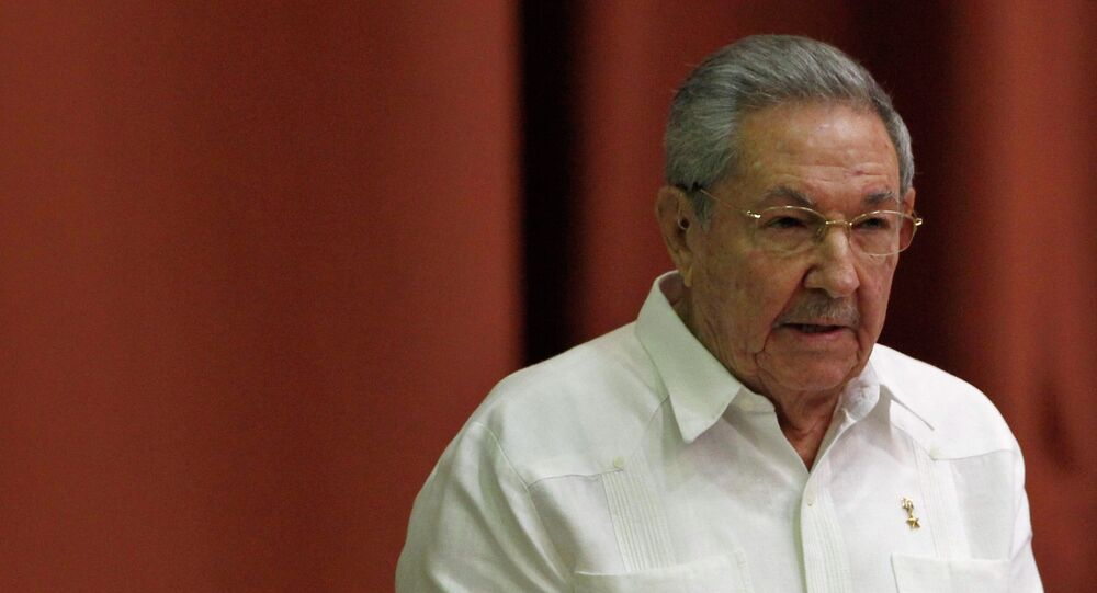 Raul Castro, presidente de Cuba
