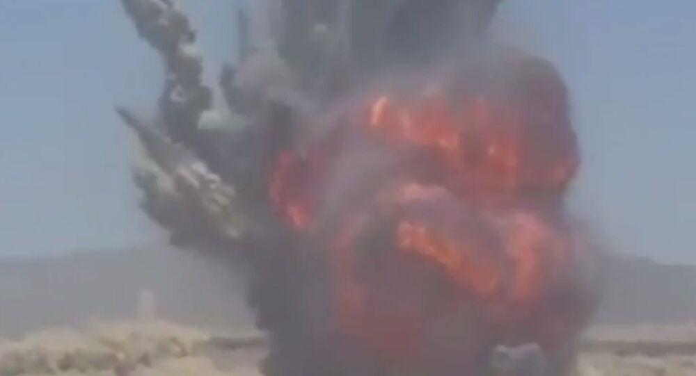 Explosão no Iêmen em 20 de abril