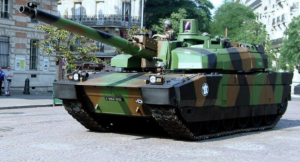 Tanque francês Leclerc