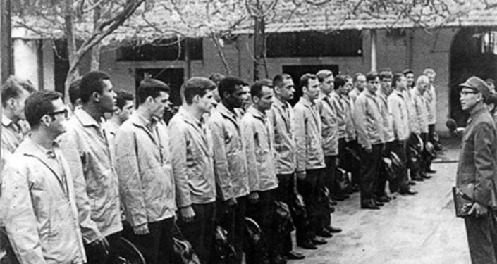 Pilotos americanos que foram feitos prisioneiros, dezembro de 1972
