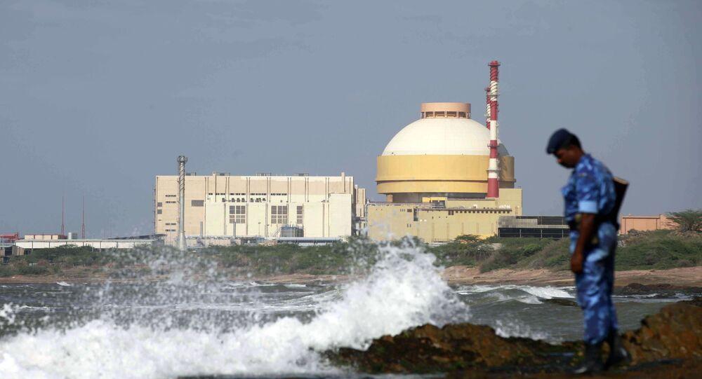 Central nuclear Kudankulam na Índia