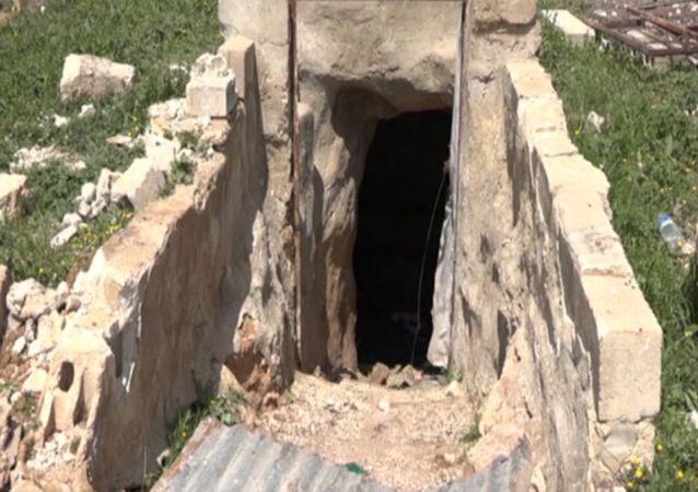 Túneis não protegem terroristas da artilharia síria