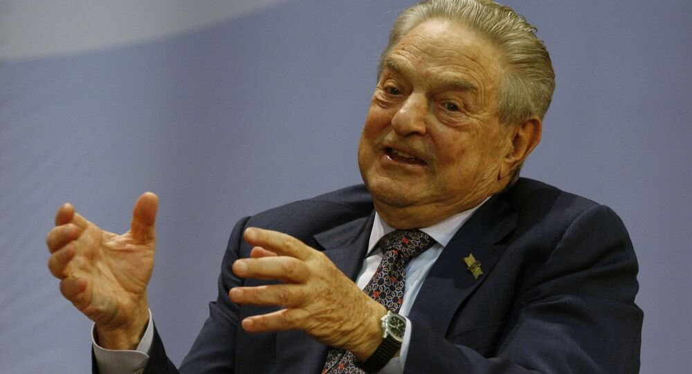 Billionaire financier George Soros