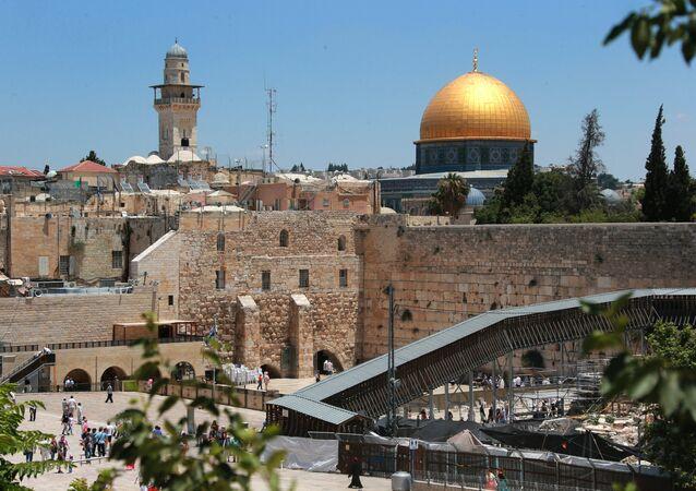 Vista da cidade de Jerusalém