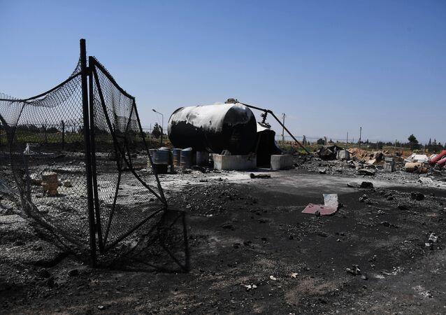 Consequências do ataque contra base aérea na Síria, 7 de abril de 2017