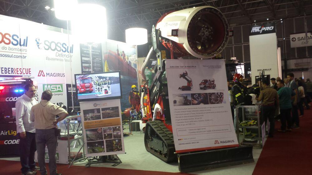 AirCore TAF 20, equipamento de combate a incêndios da alemã Magirus