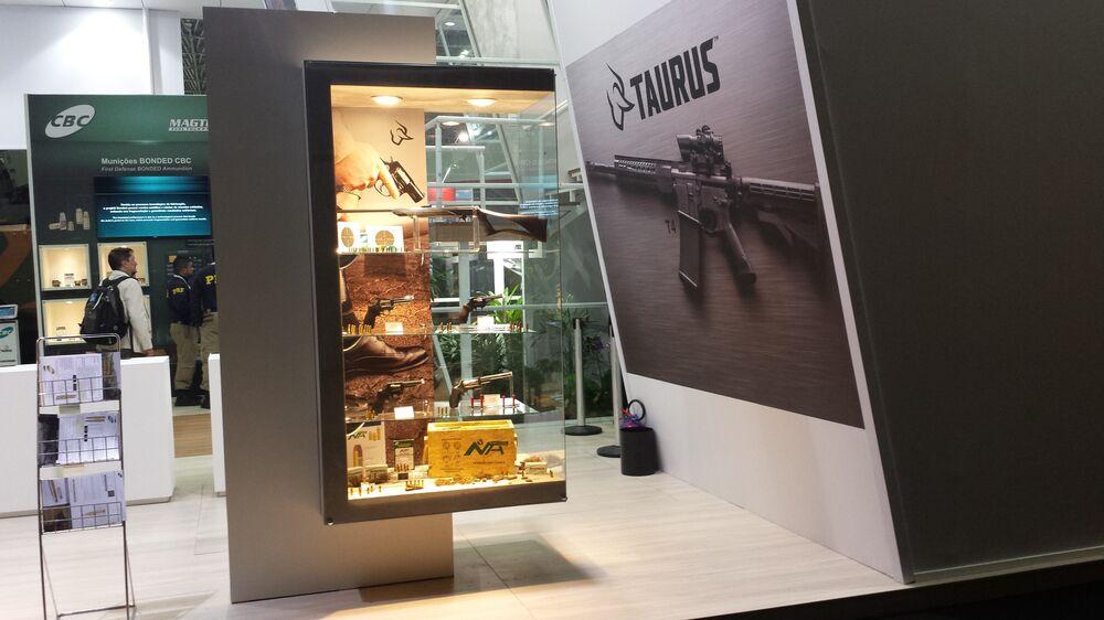 Armas de pequeno porte da brasileira Taurus