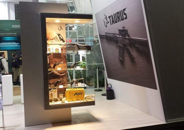 Armas de pequeno porte da fabricante brasileira Taurus (arquivo)