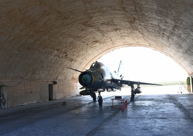 Base aérea de Shayrat, Síria, 7 de abril de 2017