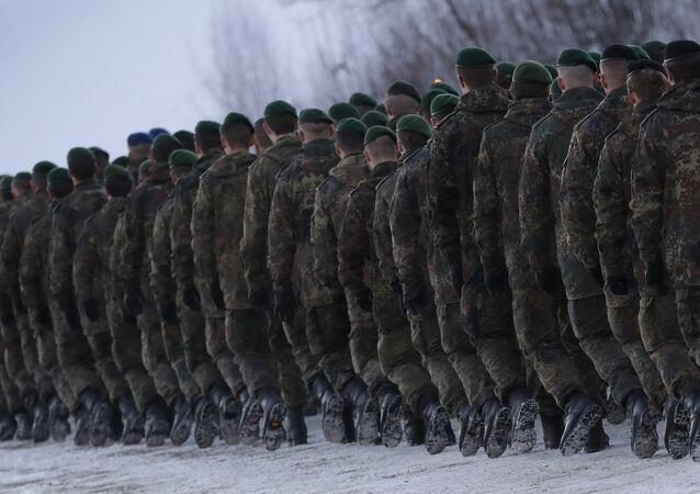 Soldados da Bundeswehr, Forças Armadas da Alemanha (arquivo)