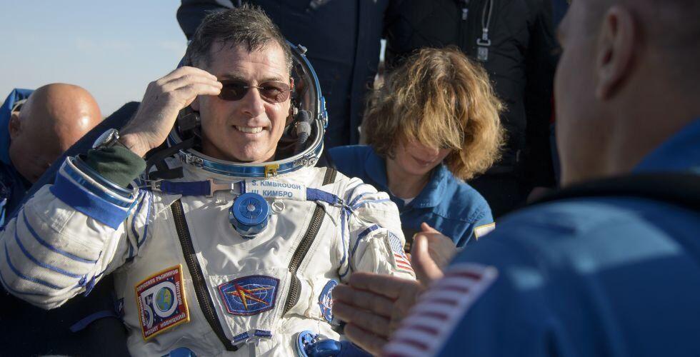Shane Kimbrough, da NASA