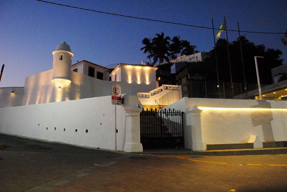 Forte de São Diogo, no bairro da Barra