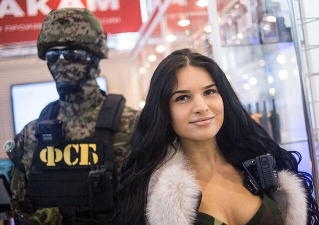 XX Exibição Internacional de Segurança Interna Interpolitex 2016 em Moscou