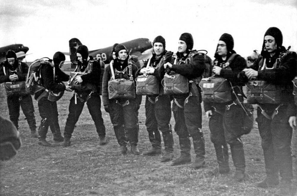 O primeiro destacamento de cosmonautas