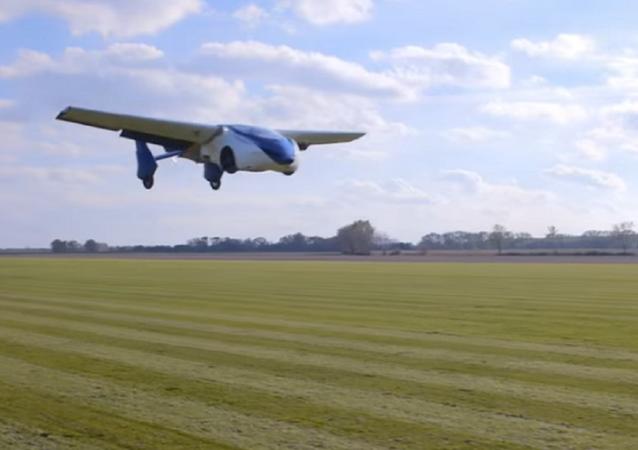 O carro voador Flying Car 3.0 da empresa eslovaca AeroMobil