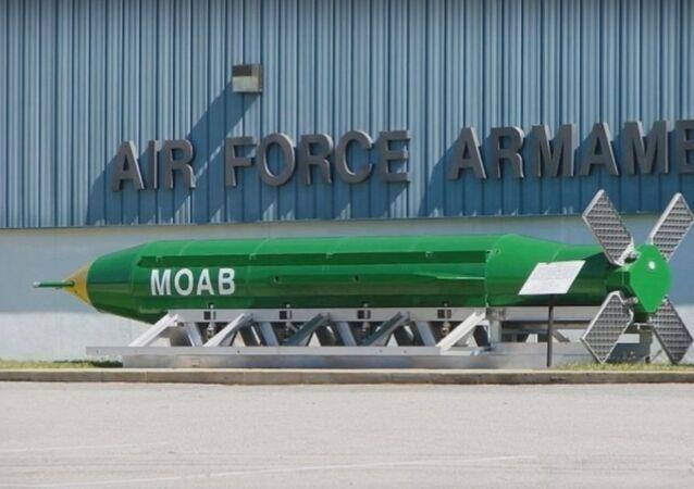 Massive Ordnance Air Blast (MOAB), Mãe de Todas as Bombas