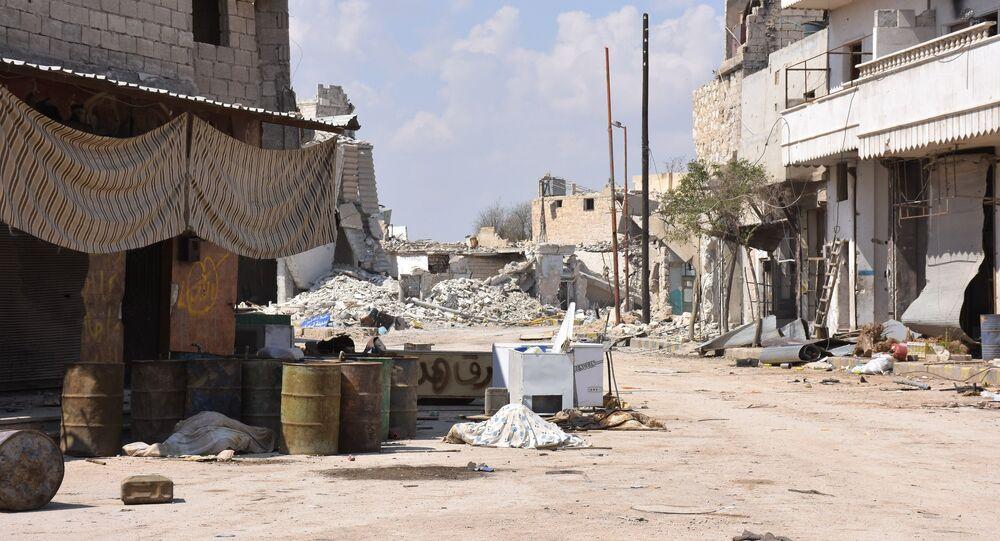Aleppo, Síria, março 2017
