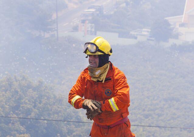 Um bombeiro português