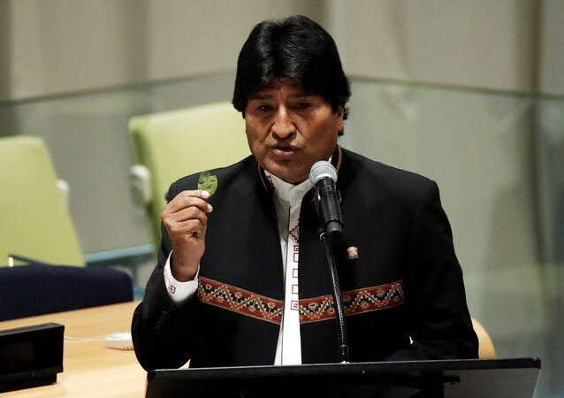 Presidente boliviano, Evo Morales (foto de arquivo)