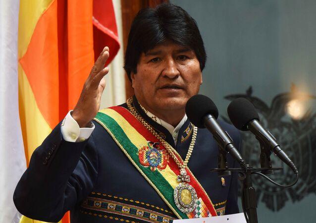 Ex-presidente boliviano Evo Morales (arquivo)