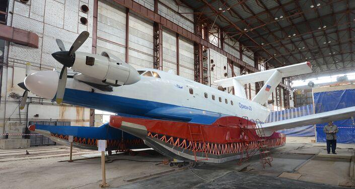 Ecranoplano russo Orion-20