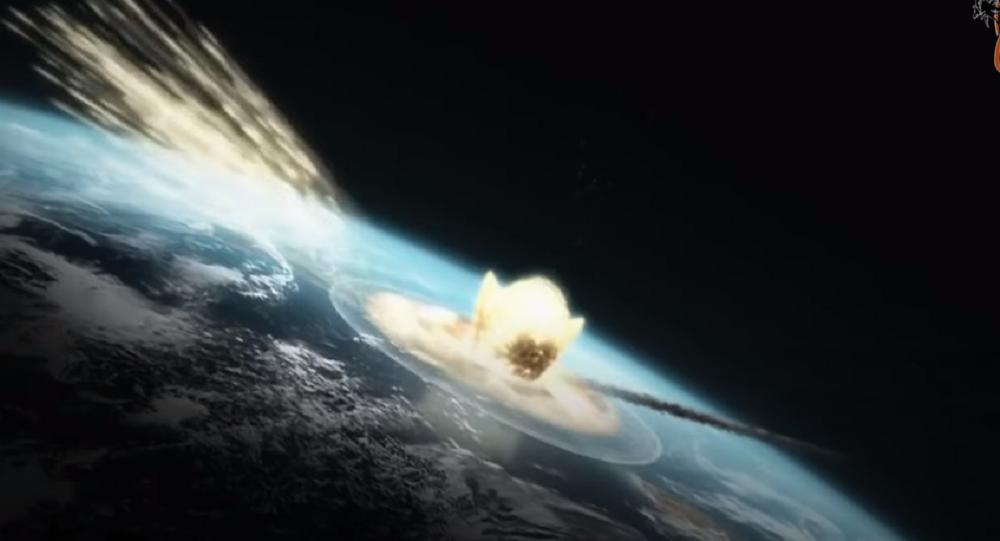 Asteroide atinge a Terra