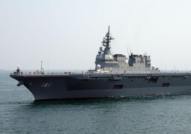 O JS Hyuga é o primeiro destróier porta-helicópteros de sua classe da Força Marítima de Autodefesa do Japão. Foi construído em 2006 e entrou em serviço em 2009. O navio recebeu o nome da antiga província japonesa de Hyuga. É o maior navio construído para a Marinha japonesa desde a Segunda Guerra Mundial. A classe Hyuga são sobretudo navios de guerra antissubmarina que transportam helicópteros antissubmarino SH-60K