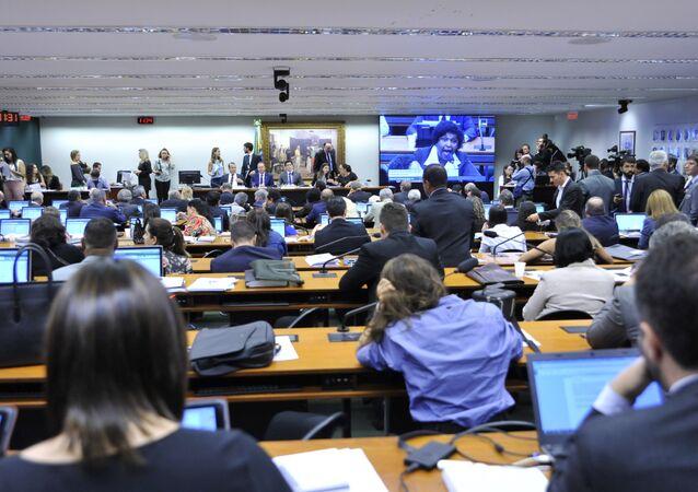 Reunião Ordinária na Câmara para discussão e votação do parecer do relator Rogério Marinho (PSDB-RN) sobre a reforma trabalhista