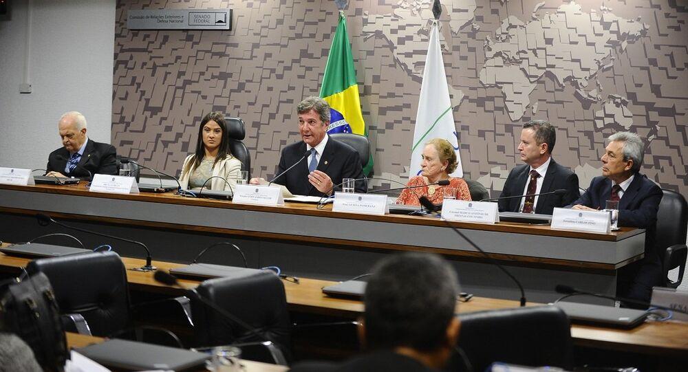 A Comissão de Relações Exteriores e Defesa Nacional (CRE) promove audiência pública para debater a influência da Rússia no cenário geopolítico mundial