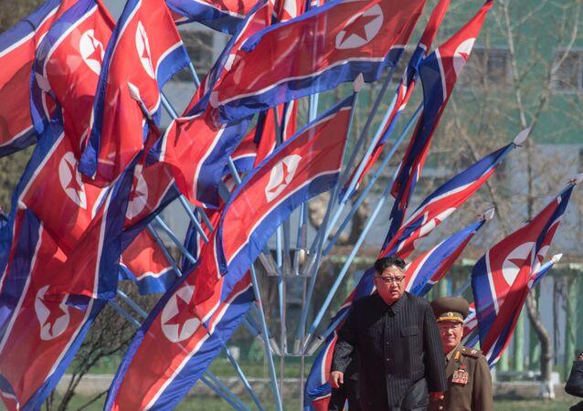 Kim Jong-un o líder da Coreia do Norte