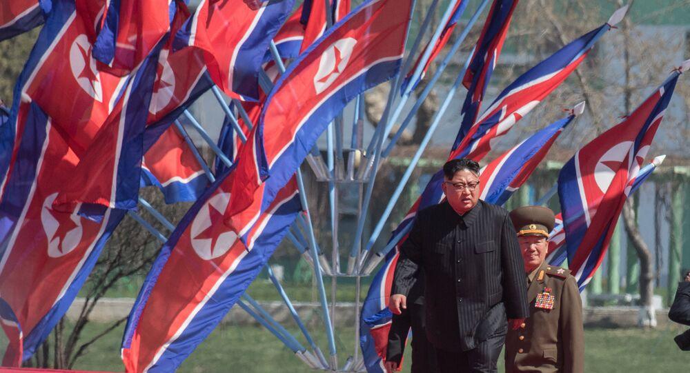 Kim Jong-un, o líder da Coreia do Norte