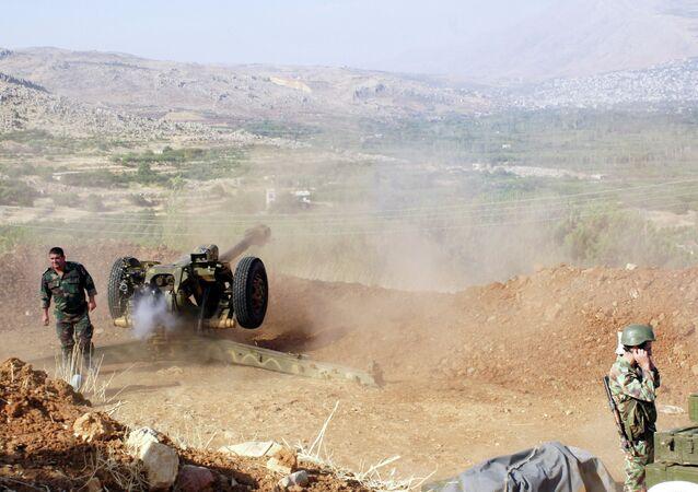 Situação na fronteira sírio-libanesa