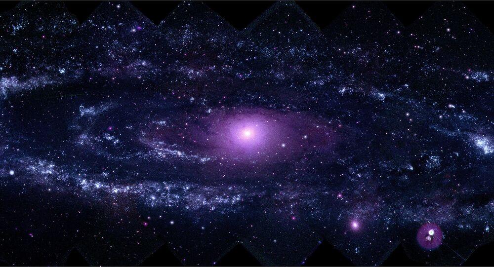Imagem da galáxia Andromeda