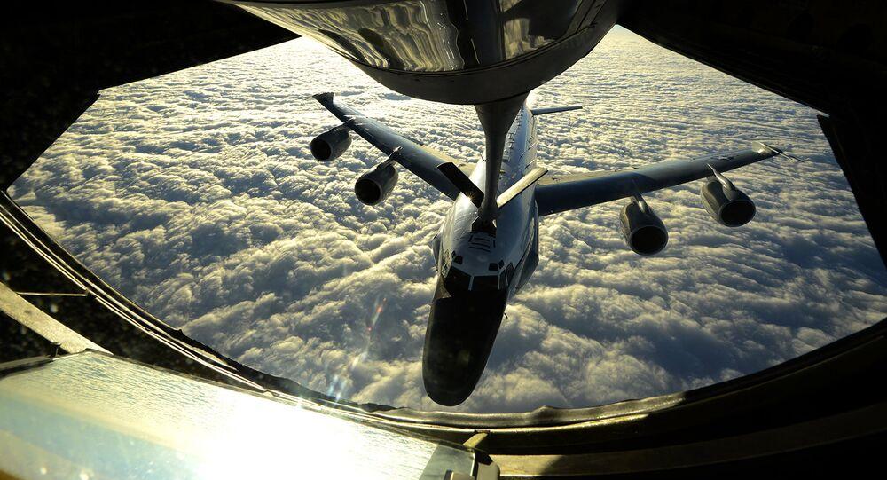 O RC-135W da Força Aérea dos EUA