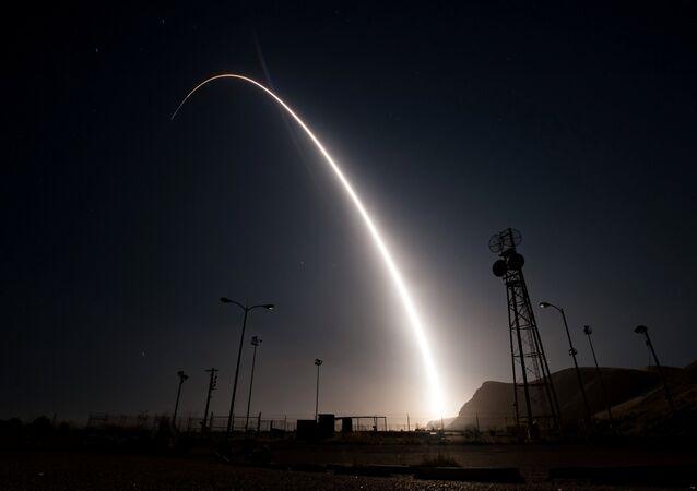 Lançamento do míssil Minuteman III (foto de arquivo)