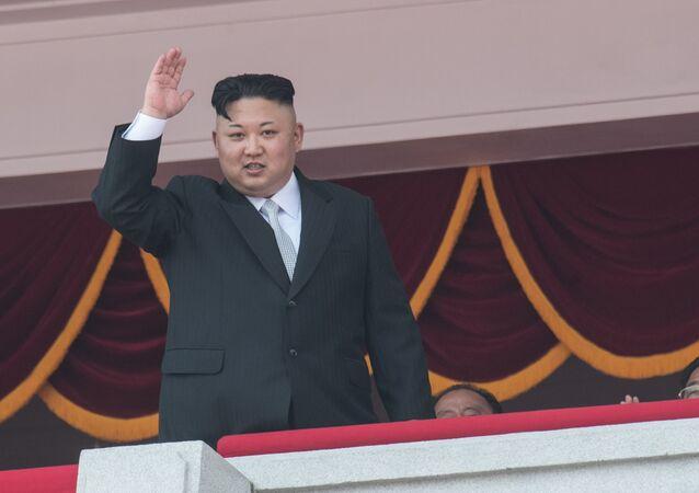 Kim Jong-un, líder da Coreia do Norte (arquivo)