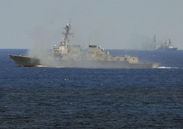 O destróier USS Oscar Austin (DDG 79) da classe Arleigh Burke